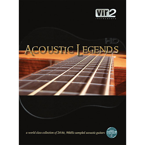 Big Fish Audio Acoustic Legends HD Virtual Instrument