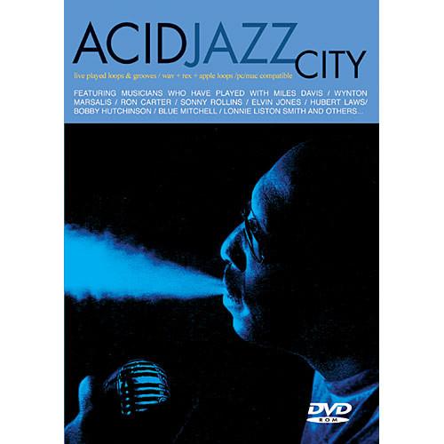 Big Fish Audio Sample DVD: Acid Jazz City (AIFF, Rex and WAV)