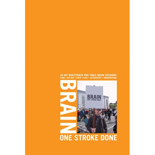Big Fish Audio Sample CD: Brain - One Stroke Done (Apple Loops, WAV and Rex)
