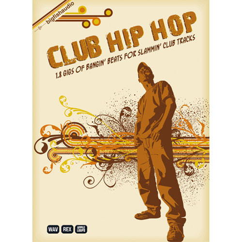 Big Fish Audio Sample DVD: Club Hip Hop (AIFF, Rex and WAV)