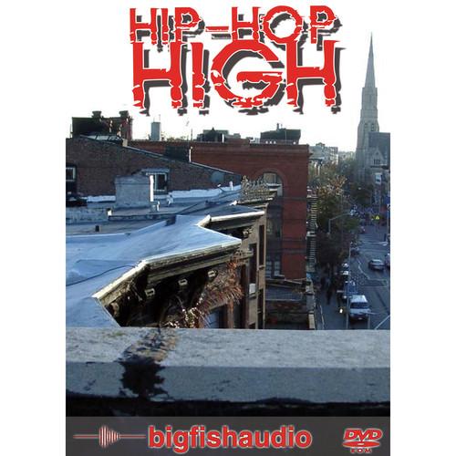 Big Fish Audio Hip Hop High DVD (Apple Loops, REX, & WAV Format)