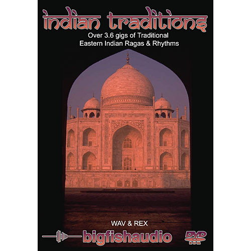 Big Fish Audio Sample CD: Indian Traditions (WAV and Rex)