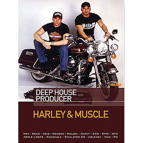 Big Fish Audio Harley & Muscle - Deep House Producer