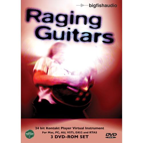 Big Fish Audio Raging Guitars - Virtual Guitar Instrument