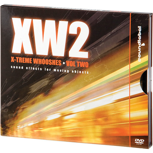 Big Fish Audio X-Treme Whooshes Volume 2 (AIFF / WAV Audio DVD)