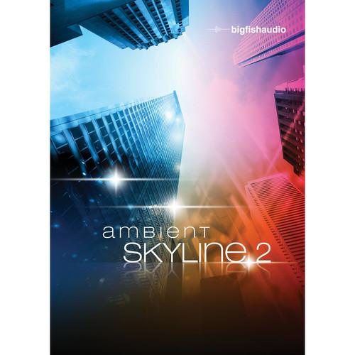 Big Fish Audio Ambient Skyline 2 DVD