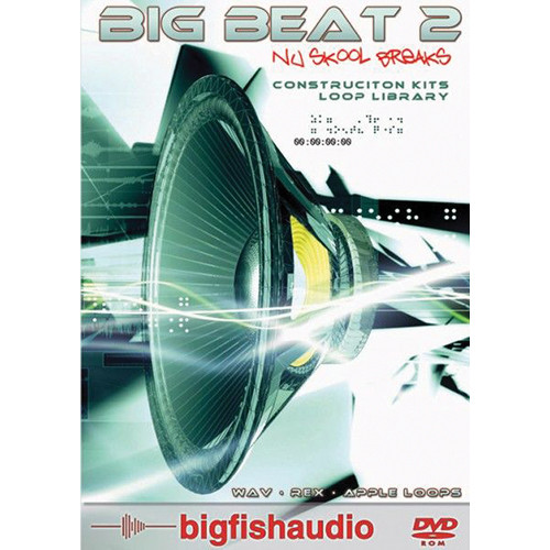 Big Fish Audio Big Beat 2: Nu Skool Breaks DVD