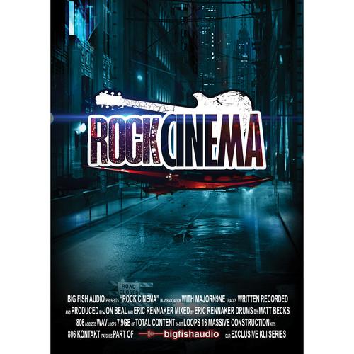 Big Fish Audio Rock Cinema DVD (Apple Loops, REX, WAV, RMX, & Acid Formats)