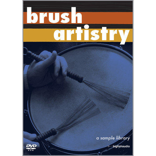 Big Fish Audio Brush Artistry DVD
