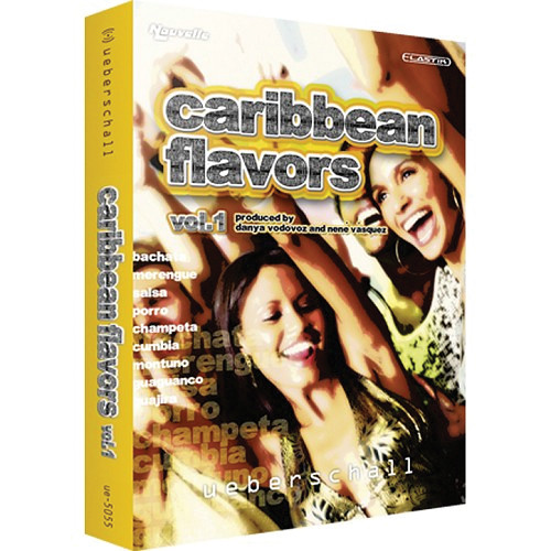 Big Fish Audio DVD: Caribbean Flavors Volume 1