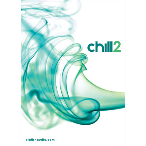 Big Fish Audio Chill 2 DVD (Apple Loops, REX, WAV, RMX & Acid Formats)