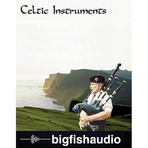 Big Fish Audio Celtic Instruments DVD (NNXT/EXS24/HALion 3/Kontakt/MachFive Formats)