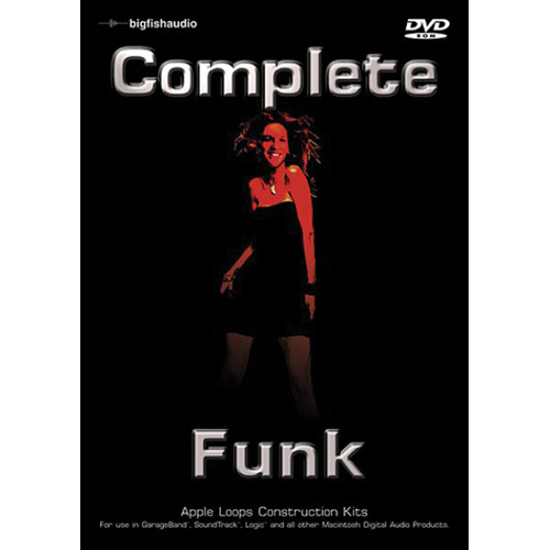 Big Fish Audio Complete Funk DVD (Apple Loops Library)
