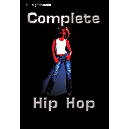Big Fish Audio Complete Hip Hop DVD (Apple Loops Library)