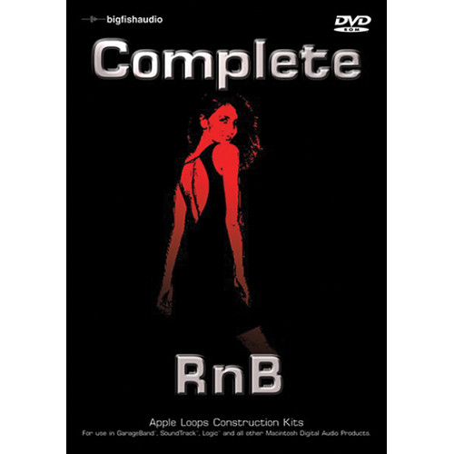 Big Fish Audio Complete RnB DVD (Apple Loops Library)