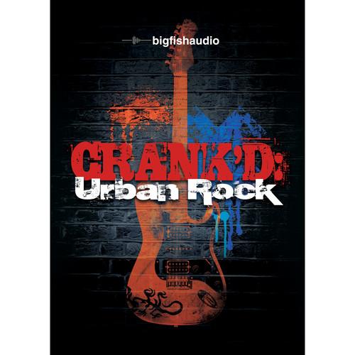 Big Fish Audio Crank'd: Urban Rock DVD (Apple Loops, REX, WAV, RMX, & Acid Formats)