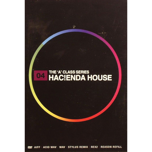 Big Fish Audio Hacienda House DVD (AIFF, REX, Refill, WAV, RMX, & Acid Formats)
