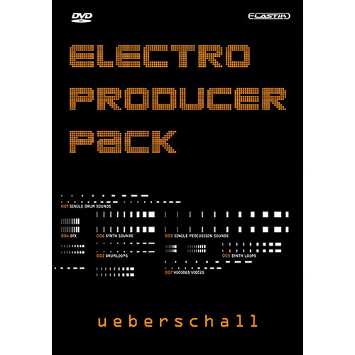 Big Fish Audio DVD: Electro Producer Pack