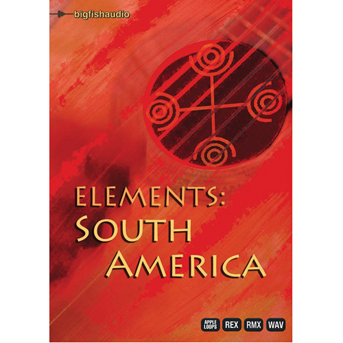 Big Fish Audio Elements: South America DVD (Apple Loops, REX, WAV, & RMX Formats)
