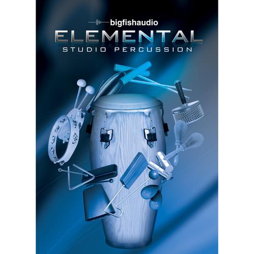 Big Fish Audio Elemental Studio Percussion DVD