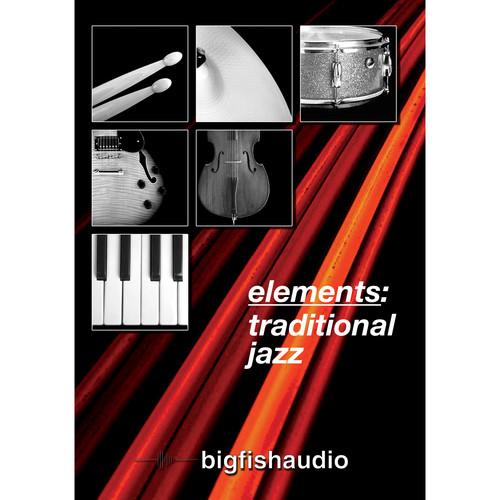 Big Fish Audio Elements: Traditional Jazz DVD (Apple Loops, REX, & WAV Formats)