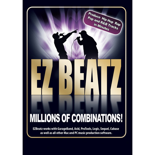 Big Fish Audio EZ Beatz DVD (Apple Loops, WAV, & Acid Formats)