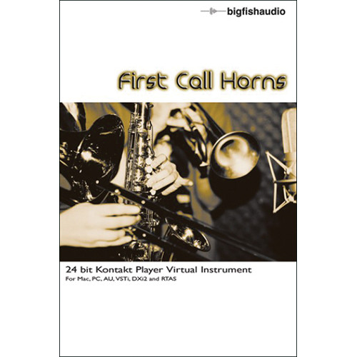 Big Fish Audio DVD: First Call Horns