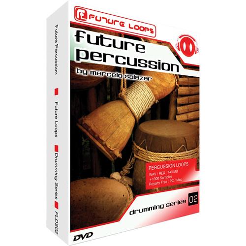 Big Fish Audio Future Percussion DVD (REX/WAV)