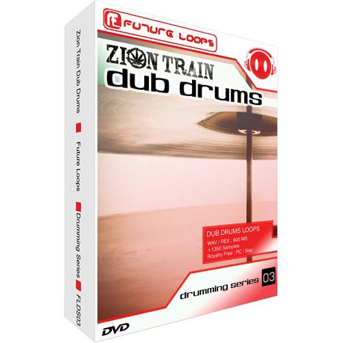 Big Fish Audio Zion Train Dub Drums DVD (REX / WAV Formats)