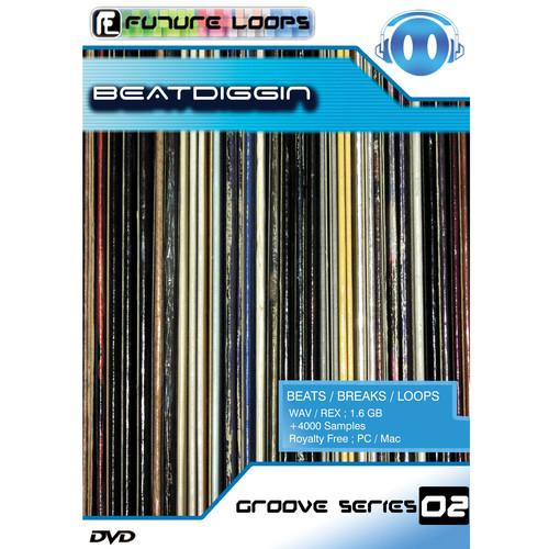 Big Fish Audio Beatdiggin DVD (REX & WAV Format)
