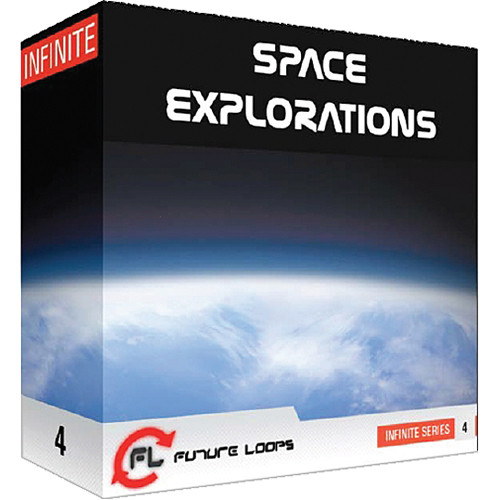 Big Fish Audio Space Explorations DVD (WAV Format)