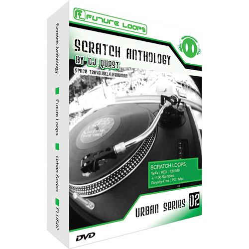 Big Fish Audio Scratch Anthology DVD (REX & WAV Formats)
