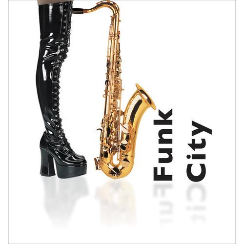 Big Fish Audio Funk City DVD (Apple Loops, REX, WAV, RMX, & Acid Formats)