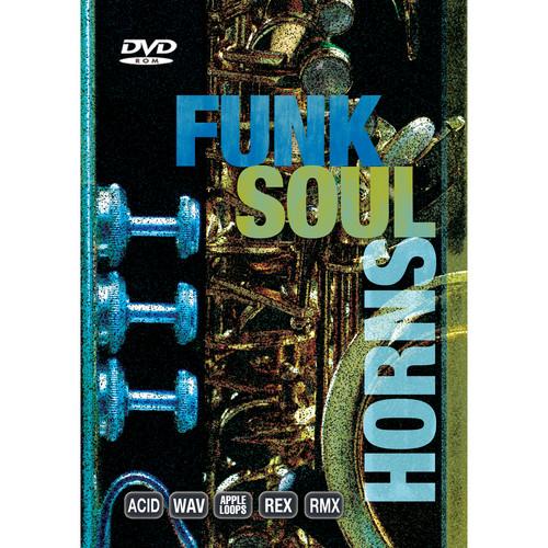 Big Fish Audio Funk Soul Horns DVD (Apple Loops, REX, WAV, RMX, Acid Formats)