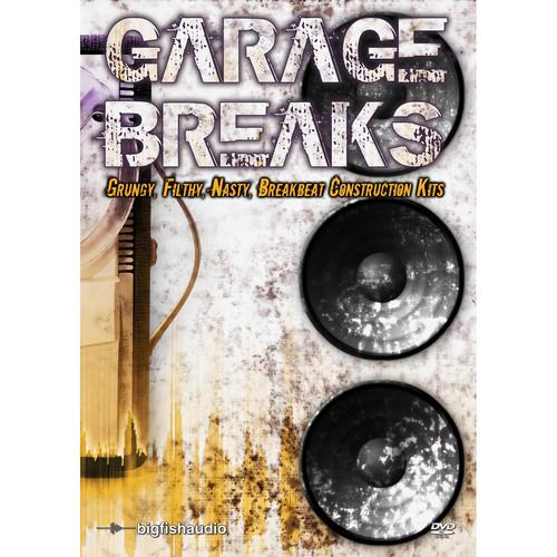 Big Fish Audio Garage Breaks DVD (Apple Loops/REX/WAV/RMX Format)