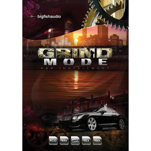 Big Fish Audio Grind Mode DVD (Apple Loops, REX, WAV, RMX, & Acid Formats)