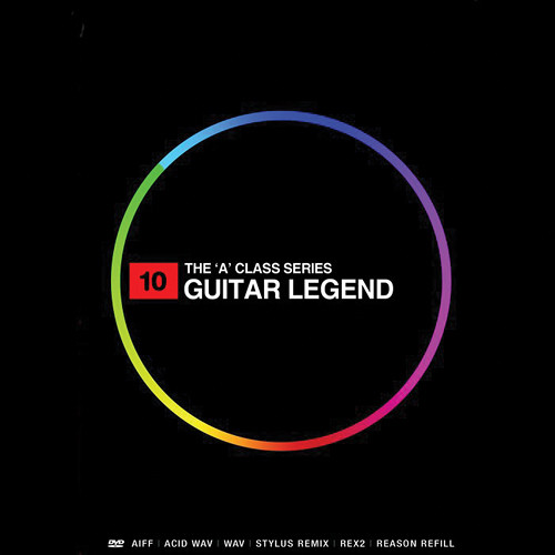 Big Fish Audio Guitar Legend DVD (AIFF, REX, Refill, WAV, Acid, & RMX Format)