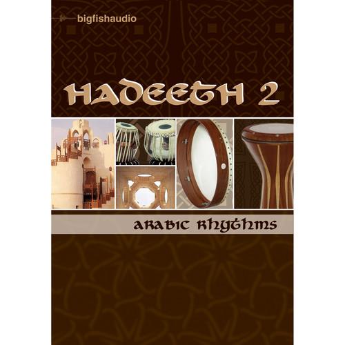 Big Fish Audio Hadeeth 2 DVD (Apple Loops, REX, WAV, & RMX Formats)