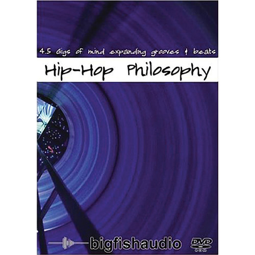 Big Fish Audio Hip Hop Philosophy DVD (Apple Loops, REX, & WAV Formats)