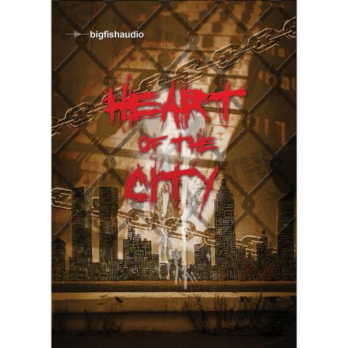 Big Fish Audio Heart of the City DVD (Apple Loops, REX, WAV, RMX, & Acid Formats)