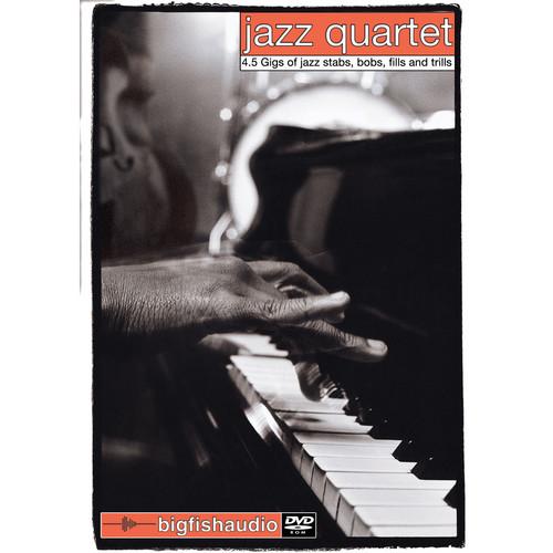 Big Fish Audio Jazz Quartet DVD (Apple Loops, REX, & WAV Formats)