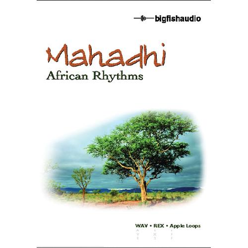 Big Fish Audio Mahadhi - African Rhythms DVD (Apple Loops, REX, & WAV Formats)