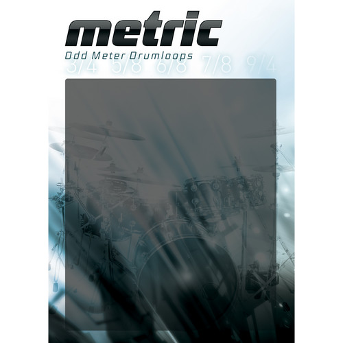 Big Fish Audio Metric: Odd Meter Drumloops DVD