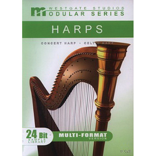 Big Fish Audio Harp Modular Series DVD (Gigastudio 3 & Kontakt 2 Formats)