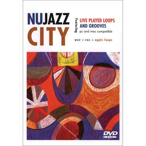 Big Fish Audio Nu Jazz City DVD (Apple Loops, REX, WAV, & RMX Formats)