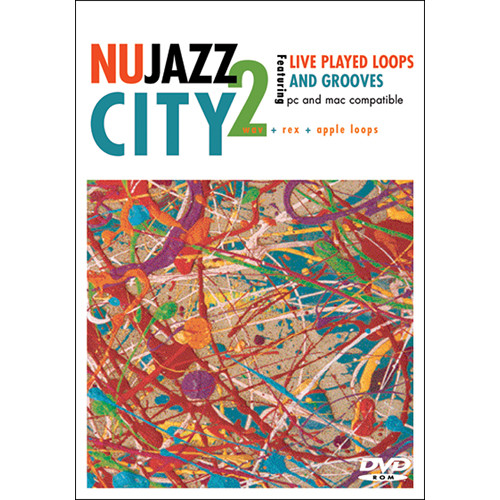 Big Fish Audio Nu Jazz City 2 DVD (Apple Loops, REX, WAV, & RMX Formats)