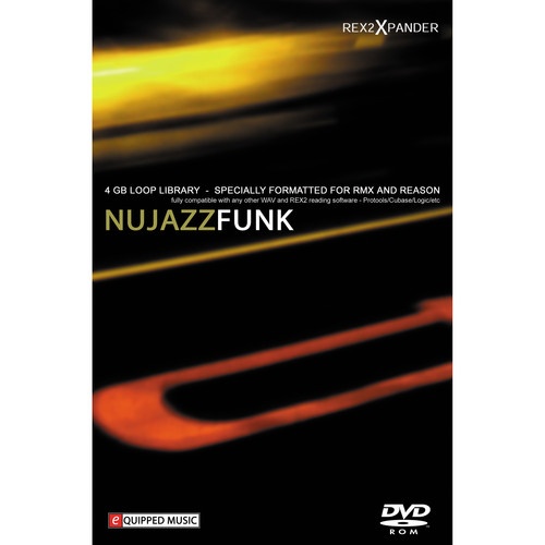 Big Fish Audio Nu Jazz Funk DVD (REX, WAV, & RMX Format)