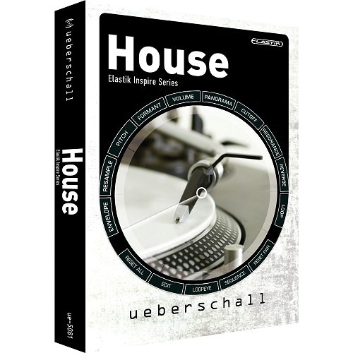 Big Fish Audio DVD: House: Elastik Inspire Series