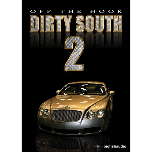 Big Fish Audio Off The Hook Dirty South 2 DVD
