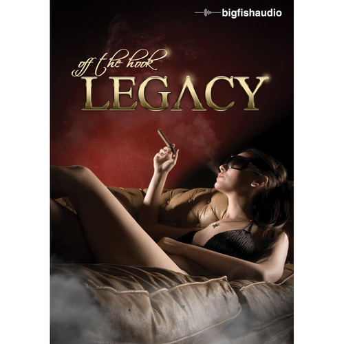 Big Fish Audio Off The Hook Legacy DVD